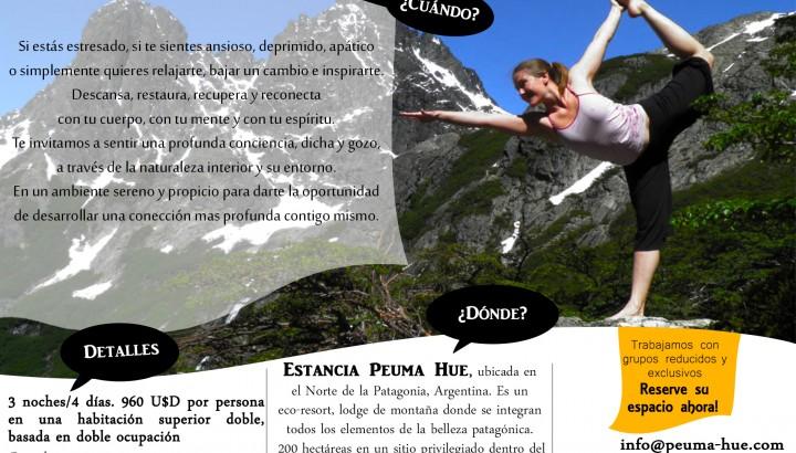 Retiro de Yoga en Peuma Hue