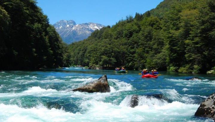 Rafting on Manso River Bariloche