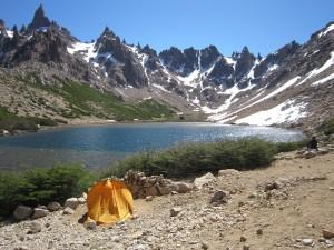Frey hut at Mt Catedral Ridge Trek