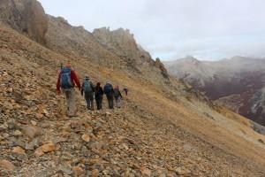 Trekking on Mt Catedral Ridge Walk to Frey