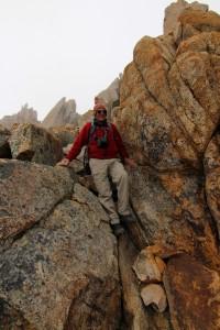 Boulders on Trek on Mt Catedral Ridge Walk to Frey