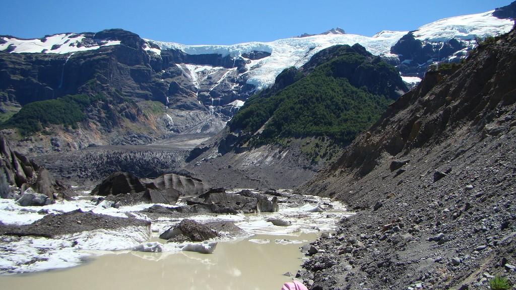 Mt Tronador and Ventisquero Negro, Bariloche